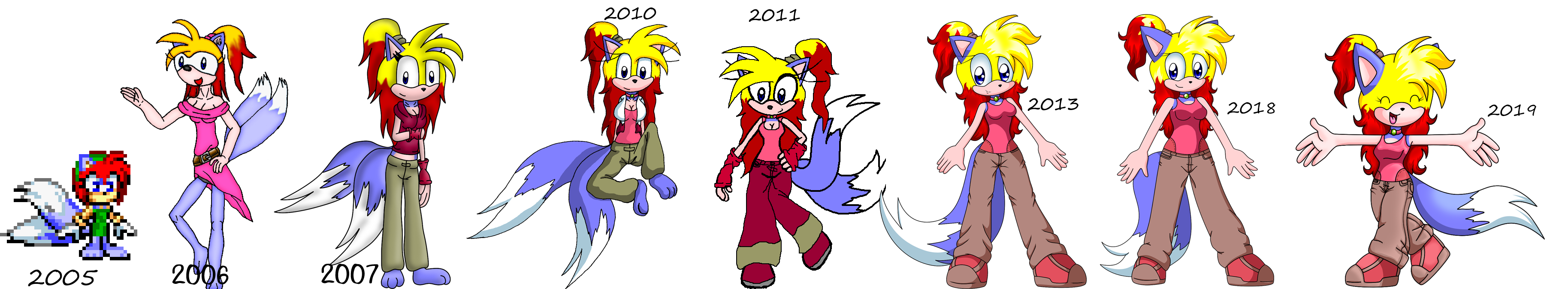 Pic of Spar art timeline